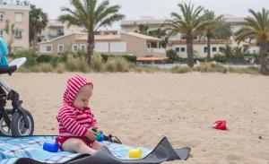 Pláž máme sami pro sebe